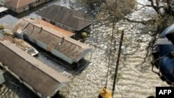 """Последствия тропического урагана """"Катрина"""" в 2005 году"""