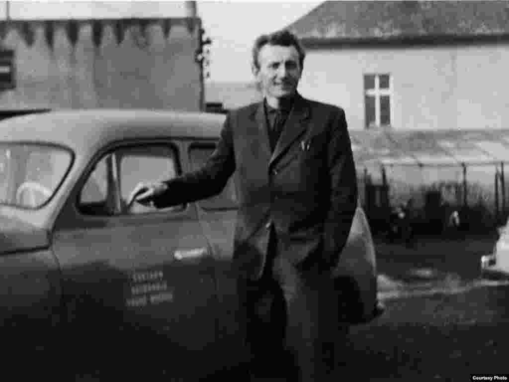 Jiri Homola in the town of Vodochody in 1965. - Among other jobs, Homola was a driving instructor, army dispatch rider, and motocross racer before he went into plastics production.