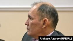 Саясаттанушы Болат Әуелбаев. Алматы, 13 сәуір 2017 жыл.