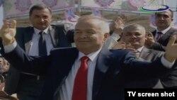 Өзбекстан президенті Ислам Каирмов. Ташкент, 22 наурыз 2012 жыл.
