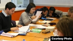 An Azerbaijani classroom (file photo)