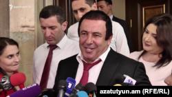 Лидер партии «Процветающая Армения» Гагик Царукян