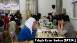 Шахматтан араб чемпионаты. (Көрнекі сурет)