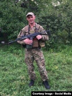 "Вячеслав Константиновский в батальоне ""Киев-1"""