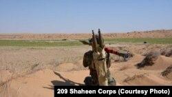ارشیف، بلخ کې د افغان ځواکونو عملیات.