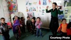 В детском саду «Балбобек». Фото с сайта Steppenomads.org.