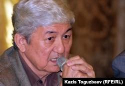 Толеген Жукеев, оппозиционный политик. Алматы, 23 октября 2012 года.
