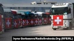 33 грузовика с реагентами для фильтровальной станции уехали в Донецк