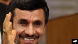 Президент Ирана Махмуд Ахмадинежад. Нью-Йорк, 20 сентября 2011 года.