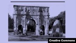 """Борис Ширяев. """"Италия без Колизея"""" (фрагмент обложки)"""