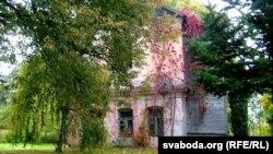 Былая капліца 1859 году пабудовы ў Віцебску ў Батанічным садзе