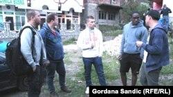 Holandski učenici u poseti Srebrenici
