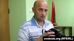 Кастусь Жукоўскі ў гомельскім судзе, 6 чэрвеня 2015 году