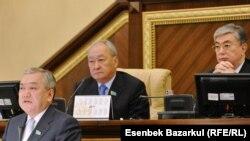 Заседание парламента Казахстана