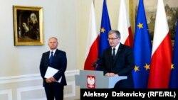 Президент Польши Бронислав Коморовский после заседания Совбеза, 1 июля 2015 года