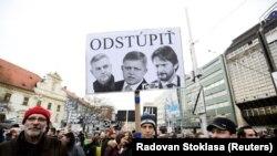 Prosvjedi u Bratislavi iz marta 2018.