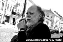 Igor Pomeranţev la Festivalul de poezie Meridian Czernowitz