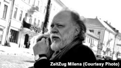 Игорь Померанцев на поэтическом фестивале Meridian Czernowitz (2010)