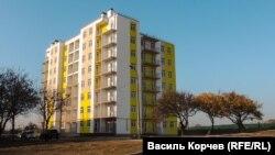 Новый дом в Керчи, построенный для депортированных граждан