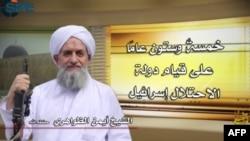 «Ալ-Ղաիդա»-ի առաջնորդ Այման ալ-Զավահիրի, հունիս, 2013թ․