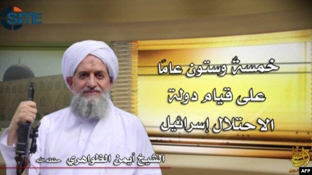 ایمن الظواهری پس از مرگ اسامه بن لادن رهبری القاعده را بر عهده گرفت