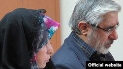 میرحسین موسوی و زهرا رهنورد