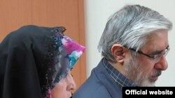 ميرحسين موسوی همراه با همسرش زهرا رهنورد از اواخر سال ۸۹ در حصر خانگی به سر میبرند.