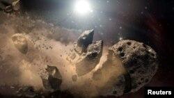 Астероид күренеше
