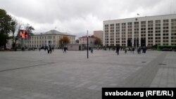 Плошча, якой Паўлоўскі хоча надаць імя Лукашэнкі