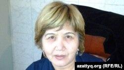 Гульнар Сулейменова, заместитель директора Центра адаптации для лиц без определенного места жительства. Алматы, 18 октября 2012 года.