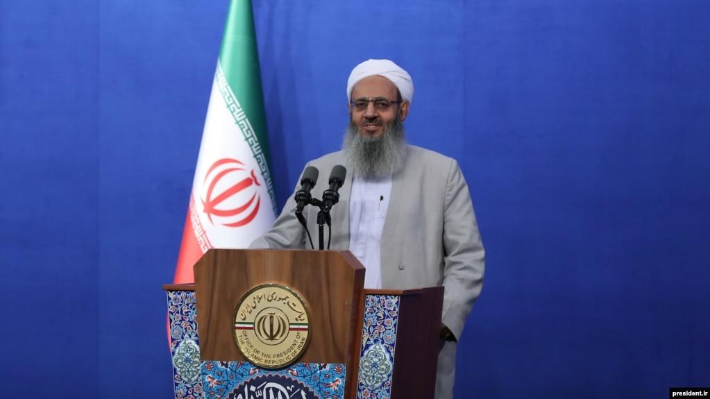 مولانا عبدالحمید، امام جمعه زاهدان و از شاخصترین چهرههای مذهبی اهل سنت ایران