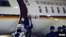 Германия тышкы иштер министри Франк-Вальтер Штайнмайер Екатеринбург шаарына келген учур. 14-август, 2016-жыл.