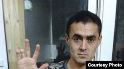 Uzbekistan-Russian -Uzbek Zhakhongir Normatov deported from Russia, Moscow,03.11.2016