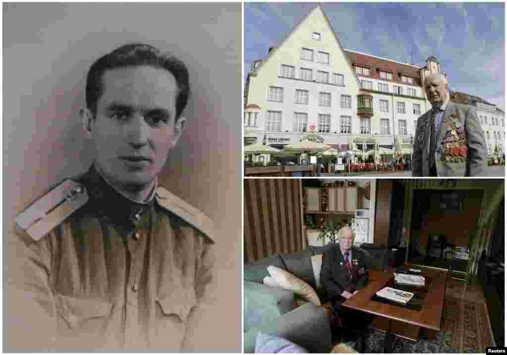 Карл Раммус, 92 года. Эстонский офицер, служивший в разведывательной роте советской пехоты. На момент окончания войны был на территории Латвии.