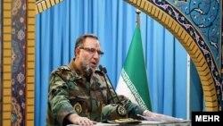 اظهارات کیومرث حیدری، فرمانده نیروی زمینی ارتش ایران، در نماز جمعه تهران ایراد میشد.