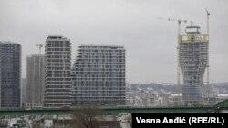 "Projekt u izgradnji "" Beograd na vodi"", Beograd, decembar 2020."