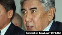 "Жармахан Туякбай, сопредседатель партии ОСДП ""Азат""."