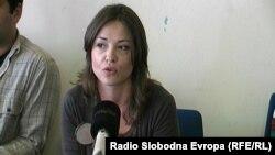 Режисерката Ива Милошевиќ.