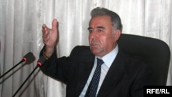 Ghaibullo Afzalov, the governor of Tajikistan's Khatlon Province
