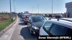 Granični prelaz Šid - Tovarnik, foto: Zoran Glavonjić