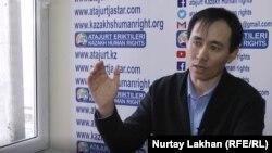 Баймурат Жумгайулы, этнический казах из Китая, который говорит, что работал охранником в «лагере политического перевоспитания» в Синьцзяне.