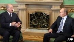 Встреча Путина и Лукашенко в Минске, 28 мая 2009