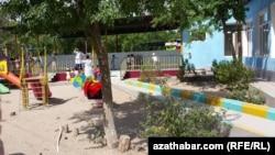 Детский сад в Туркменистане (архивное фото)