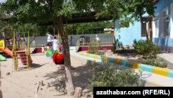 Türkmenistanyň çagalar bagy (arhiw suraty)