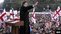 Міхаіл Саакашвілі, 2008 год