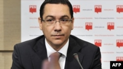 Romanian Prime Minister Victor Ponta faced strong pressure in Brussels on July 12.