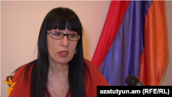 Armenia -- Head of the Prosperous Armenia Party (BHK) Naira Zohrabian, Yerevan, 03Mar2016
