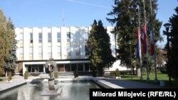 O budžetu i zakonima koji su izveli radnike na ulice: Zgrada Narodne skupštine RS u Banjoj Luci