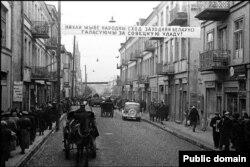 Савецкія войскі ў Беластоку, 1939, Польшча