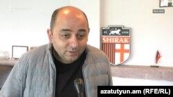 Armenia -- Parliament deputy Arman Sahakian.